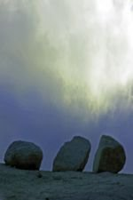 Photo of Three Rocks and a Cloud, by Harry Griswold