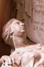 Photo of Statue at Milton Abbey Church, by Harry Griswold